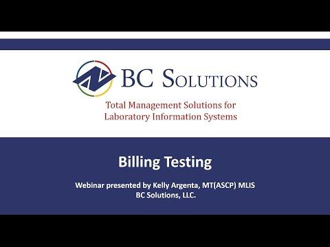 Billing Testing Webinar