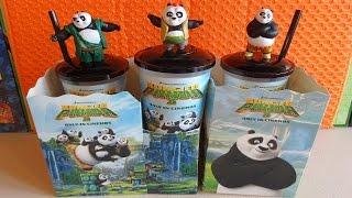 2016 DreamWorks Movie Kung Fu Panda 3 Cinema Pack Full Set #2 Figures in Europe