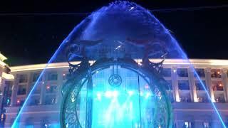 Завораживающее вечернее шоу в The Land of Legends Theme Park тематический парк Земля Легенд