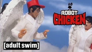 An Atheist goes to Heaven | Robot Chicken | Adult Swim