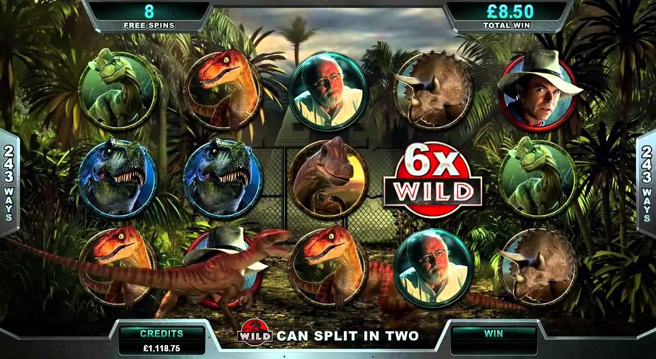 Jurassic Park Slot Rezension