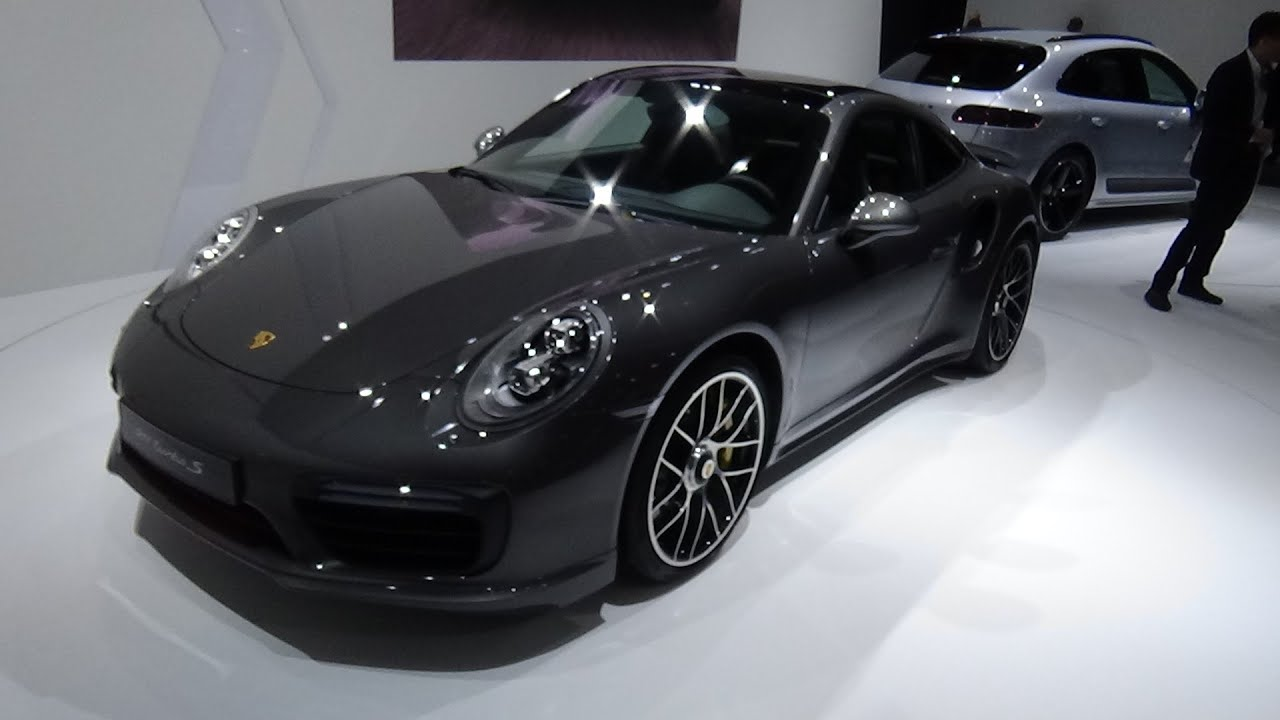 2016 porsche 911 turbo s exterior and interior auto show brussels 2016 youtube