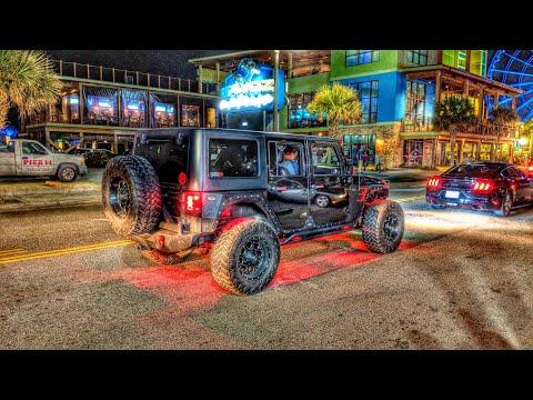 Noche de Autos modificados - Run to the Sun - Myrtle Beach 2018