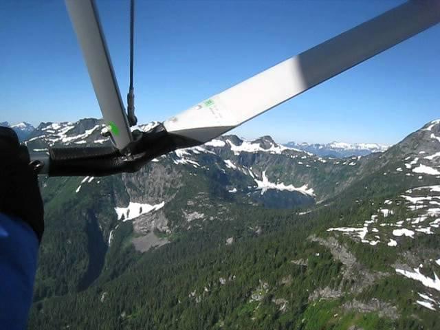 Flying to Skookumchuck Hot Springs | T'sek Hot Springs | BC - August 2012