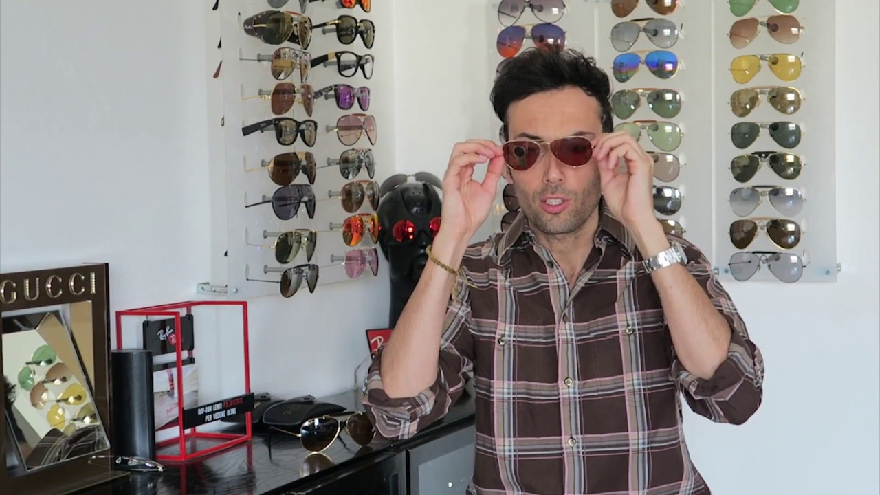 9b3e70f62e The Raybanist - Vintage Ray Ban Bausch Lomb Chromax B-20 - YouTube