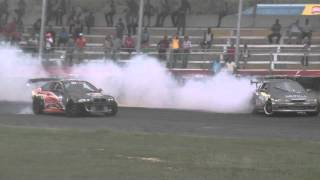 Nissan Silvia S13.4 (Zenki) Vs BMW E46, Drift Day 12-10-14