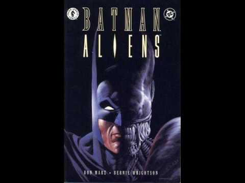 Batman/Aliens review