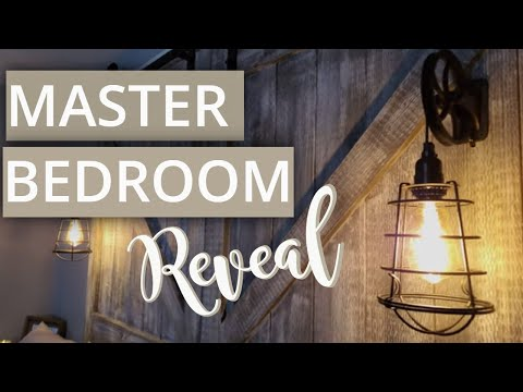bedroom-makeover-and-barndoor-headboard-reveal!