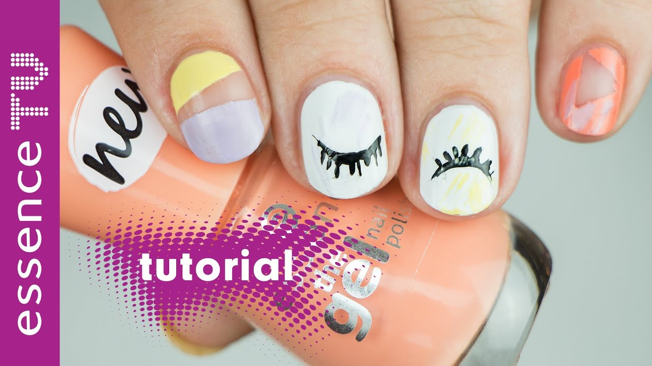 nail art designs deutsch: negative space nails - für anfänger ...