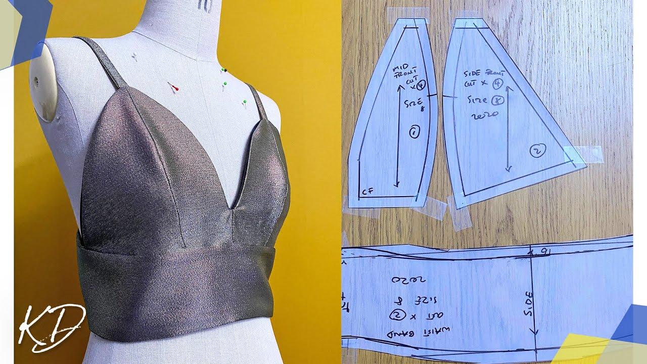 Download Bralette Sewing Tutorial