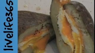 How To...make A Killer Fried Egg And Cheese In A Potato (bun) Sandwich
