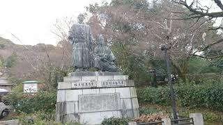 円山公園の奥の方にあります。 かなり大きかったです。