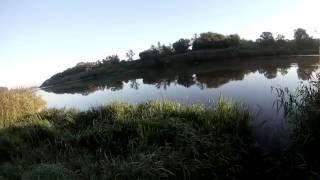 Рыбалка на фидер на реке Дон в Липецкой области