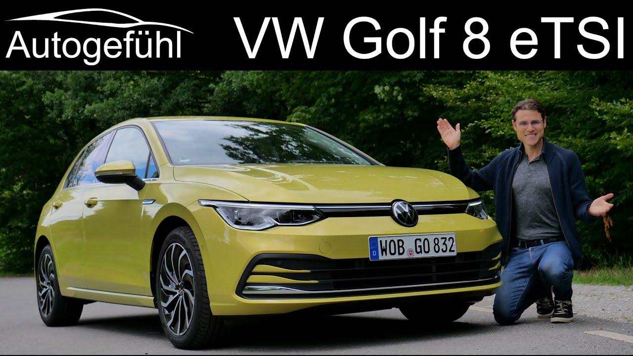 Download Volkswagen Golf 8 FULL REVIEW all-new Mk8 2020 eTSI MHEV - Autogefühl
