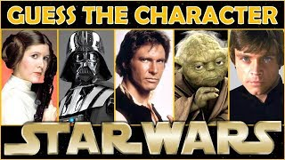 "Guess the Character ""STAR WARS"" Trivia/Quiz/Challenge"