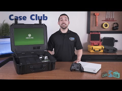 Case Club Xbox One X / S Portable Gaming Station, Gen 2 - Overview