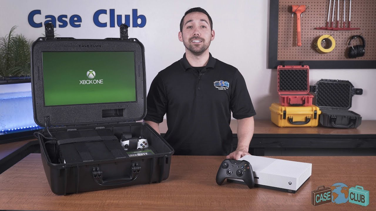 Case Club Xbox One X / S Portable Gaming Station, Gen 2 - Overview - Video