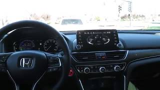 2019 Honda Accord Hybrid MPG Test Drive (Normal Mode)