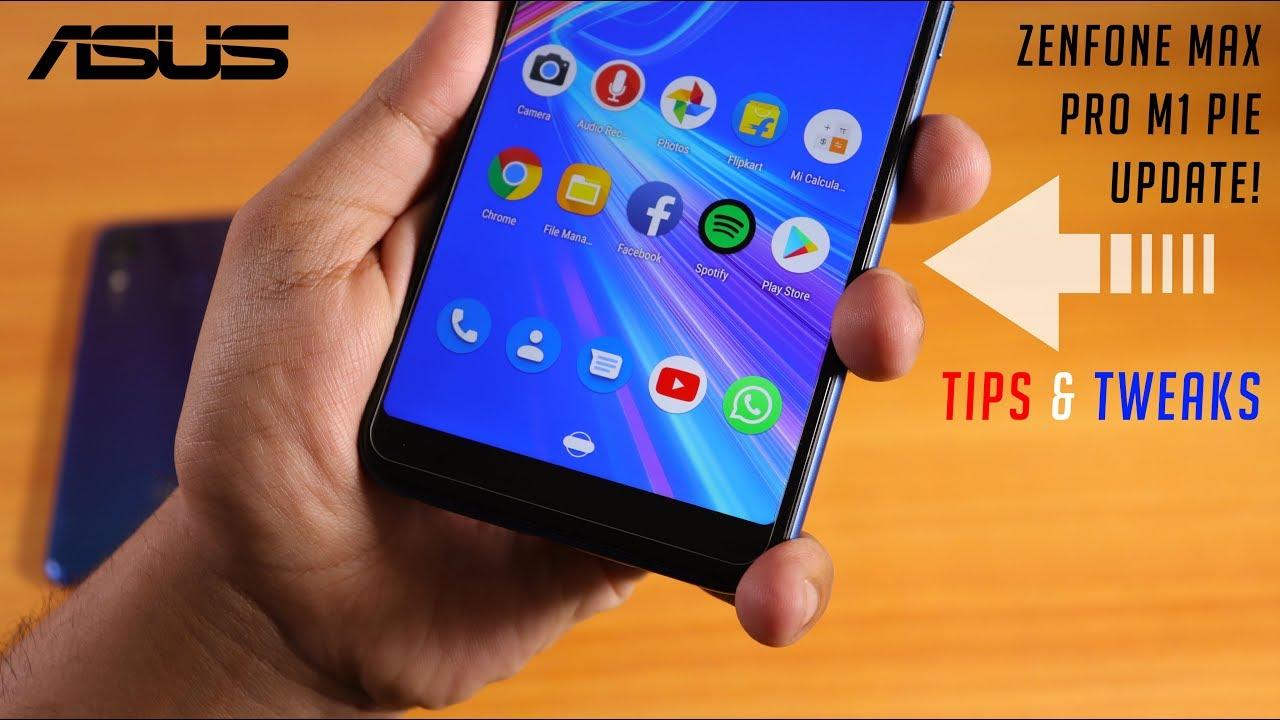 Pie Update Tips and Tweaks || Zenfone Max Pro M1 || Split Screen & More