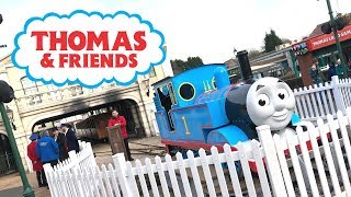 Thomas Land Drayton Manor - Vlog Feb 2019 - Thomas and Friends