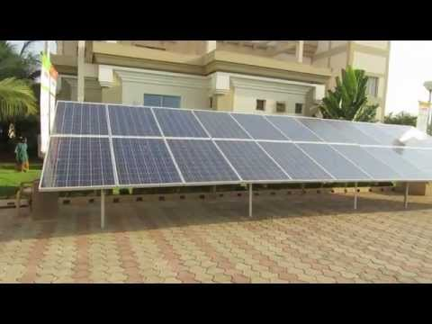 Solar Energy Guide for Beginners - Roof top solar panel installation.