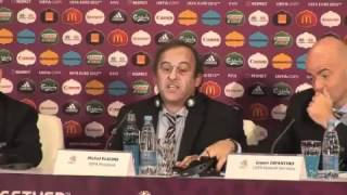 VIDEO Platini: 'Euro 2020 in tredici città europee'