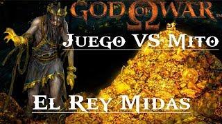 God of War || Juego VS Mito || El Rey Midas - El mal de la codicia