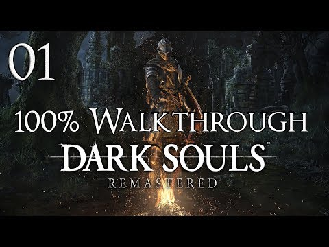 Dark Souls Remastered - Walkthrough Part 1: Firelink Shrine