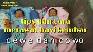 Cara merawat bayi kembar | perempuan dan laki-laki