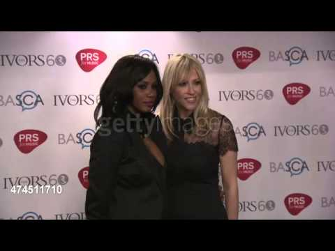 Nicole Appleton and Shaznay Lewis at The Ivor Novello Awards 2015