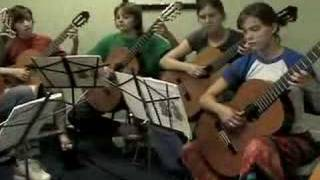Mexican Folk Song • Guitar Ensemble