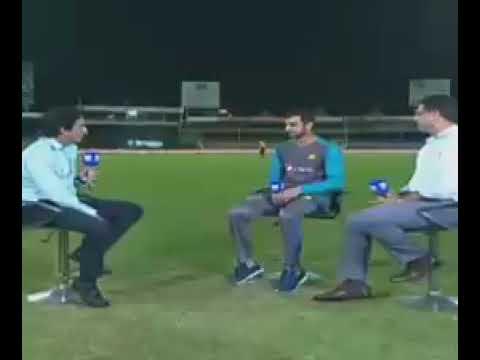 Shoaib Malik funny interview with Ramiz Raja & Waqar Younis