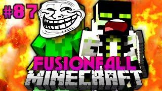 Der ULTIMATIVE TROLL!! - Minecraft Fusionfall #087 [Deutsch/HD]
