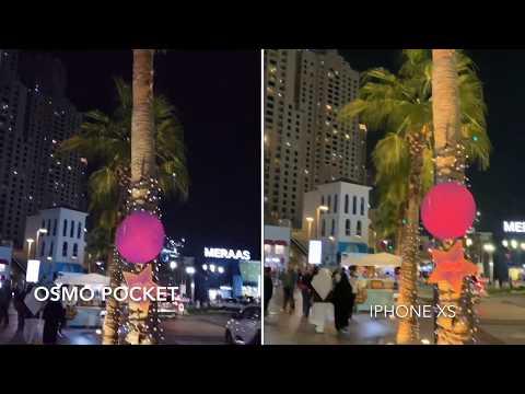IPhone Xs Vs DJI Osmo Pocket 1080 60fps