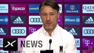 Niko Kovac tobt: