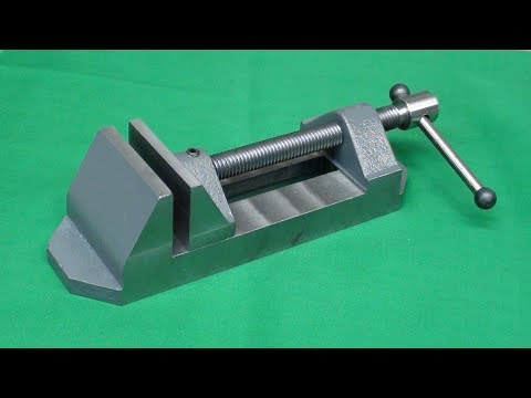 Make a Drill Press Vise From Castings Tips #435 pt3 tubalcain