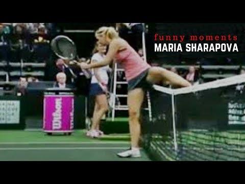 Tennis. Maria Sharapova  Top Funny Moments