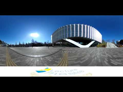 Tokyo Tech Lecture Theatre introduction (360 ° video)