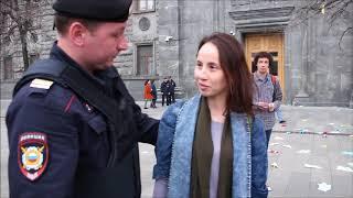 Акция в защиту Telegram: Алехина, Энтео, Весна