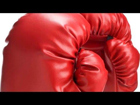 D.I.Y boxing gloves