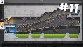 ЮБИЛЕЙНЫЙ УРОВЕНЬ! ДАЛИ ЛЮБОВНЫЙ КУБ В ОФИС - Bridge Constructor Portal - Прохождение на русском #11