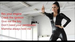 Sofia Carson  - Full Throttle   - lyrics