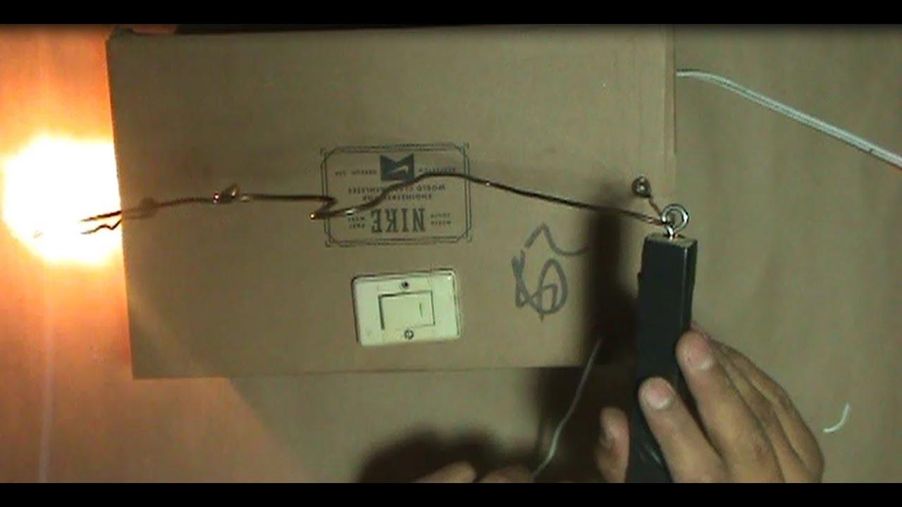 Pulsador electrico casero (mide el pulso de las manos) (es ...