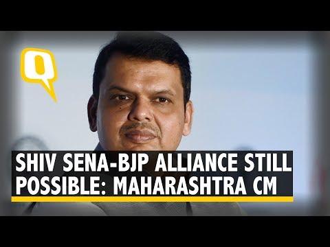 BJP-Shiv Sena Alliance Still Possible: Fadnavis at Jalna Meet | The Quint Mp3