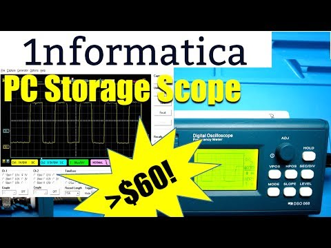 Turn Your PC into a  Storage Scope for Under $60!! JyeLab Software - Electronic Project