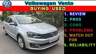 BUYING USED | Volkswagen Vento 35,000km Review | PROS, CONS, RELIABILITY, SPARES