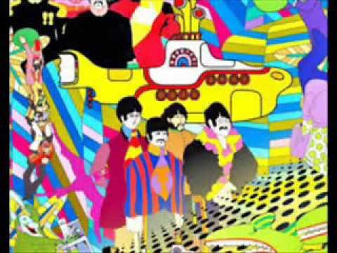 The Beatles cartoons Presents Mellow Submarine #9
