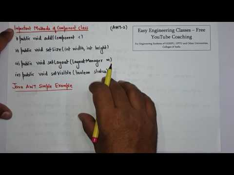 java-awt,-methods-of-component-class,-awt-example-in-hindi-and-english