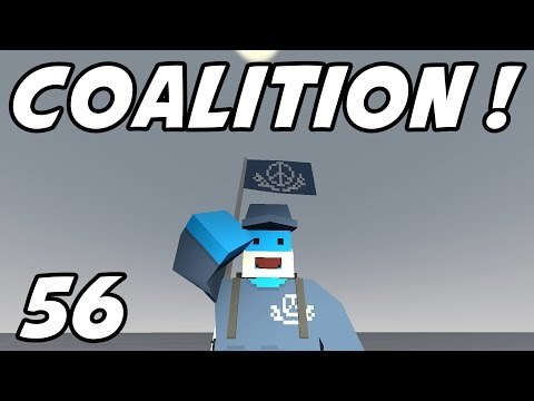 """UNTURNED - E56 """"Joining the Coalition!""""  (Russia Map Role-Play)"""