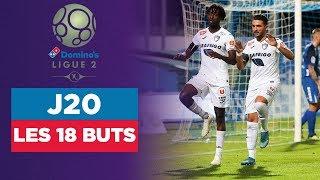 VIDEO: Domino's Ligue 2 - J20 : Tous les buts du MultiLigue2